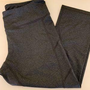 Reebok grey cropped leggings